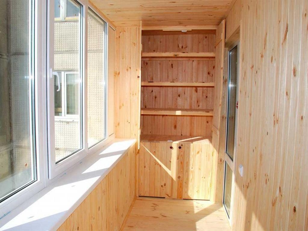 Как экономно сделать ремонт на балконе своими руками 29